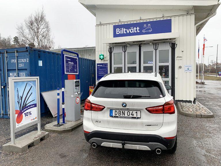 Renare biltvätt i biltvätt