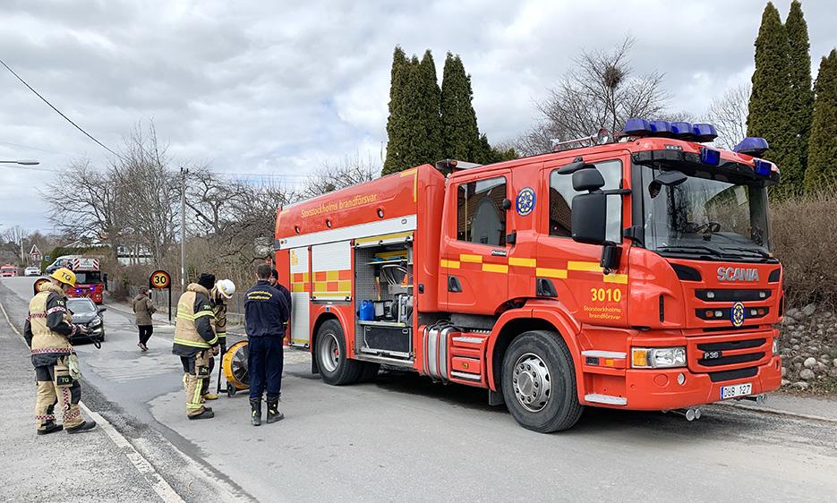 Bilbrand i Brevik