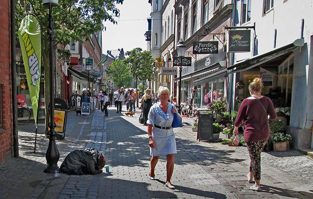 Hemlösa finns även på Lidingö