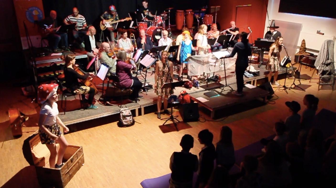 Musikföreställningen Sångskatten på Elverket