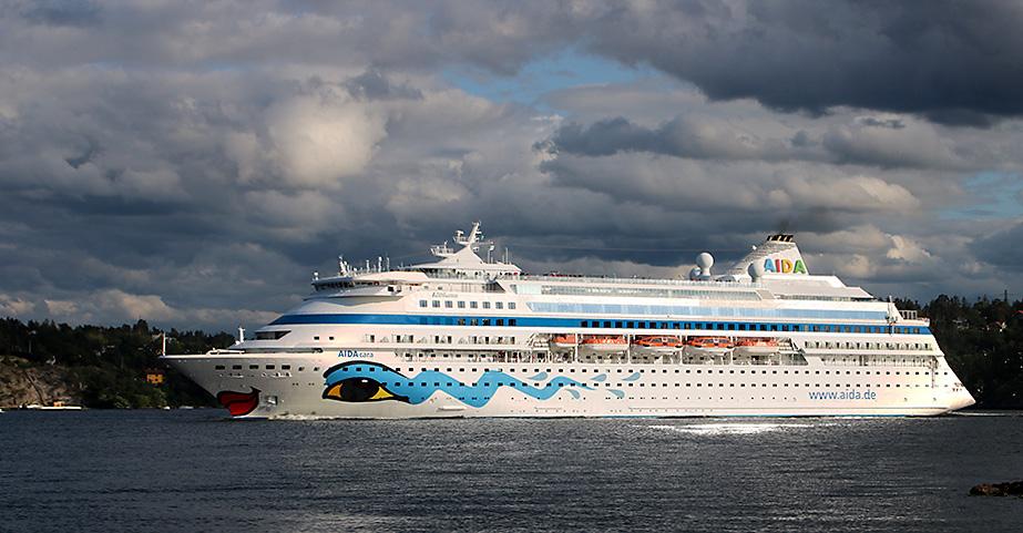 Kryssningsfartyg i sommar: AIDACara