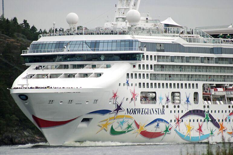 Kryssningsfartyg i sommar: Vad väger hon?