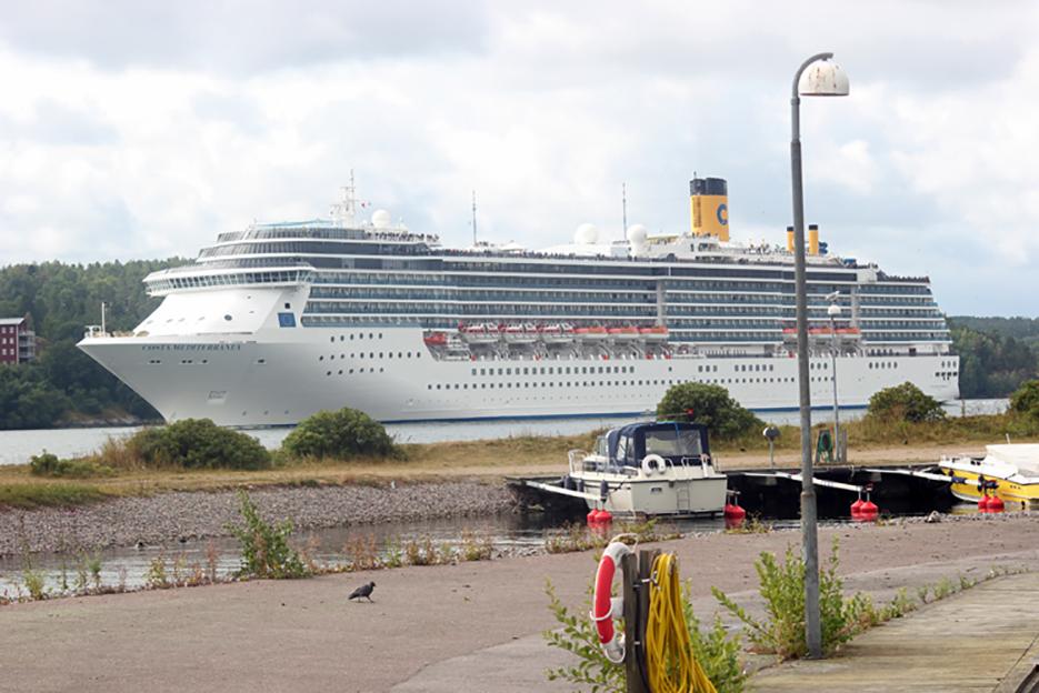 Kryssningsfartyg i sommar: Costa med mer känd syster