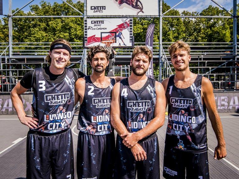Lidingö City vinner 3X3 Basket SM och tar sig vidare till Riga