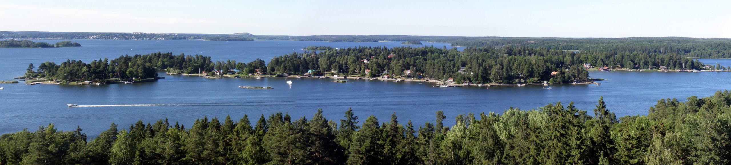 Storholmen – från slott till koja
