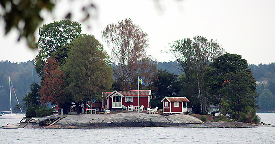 Svanholmen – en pärla i Hustegafjärden