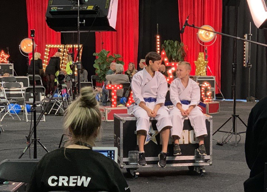 Talang från Storholmen i TV4:s Talang