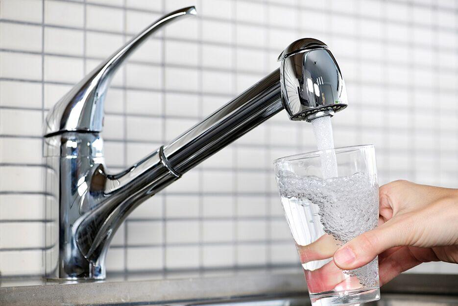 Vatten på kran bättre än på flaska