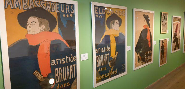 Härliga affischer på Millesgården