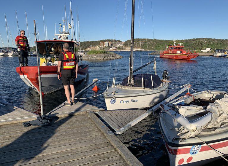 Scouter i båtolycka i Brevik