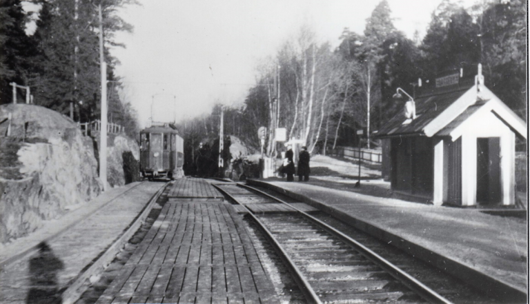 Stationshus på Lidingöbanan: Baggeby