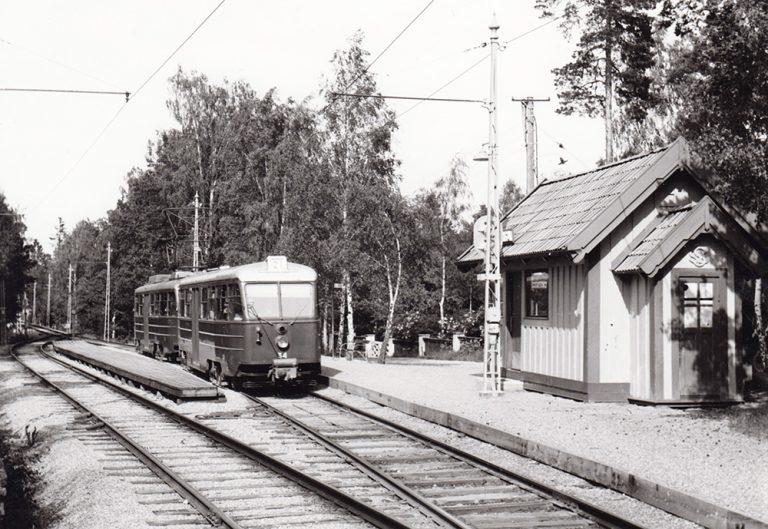 Stationshus på Lidingöbanan: Högberga