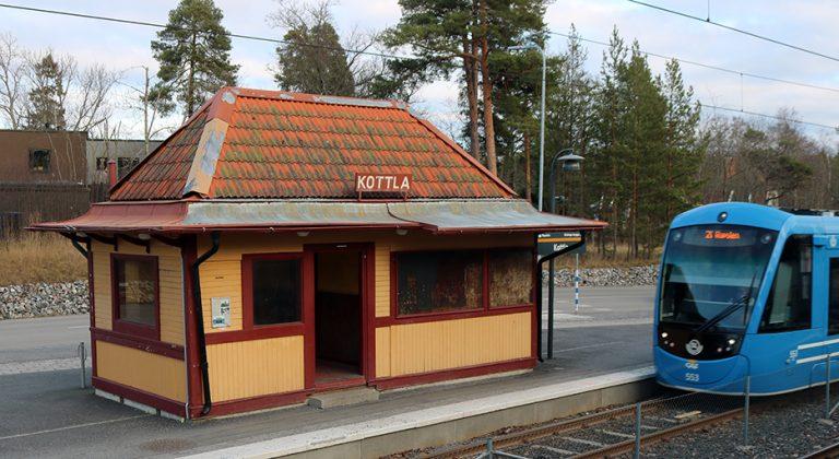 Stationshus på Lidingöbanan: Kottla