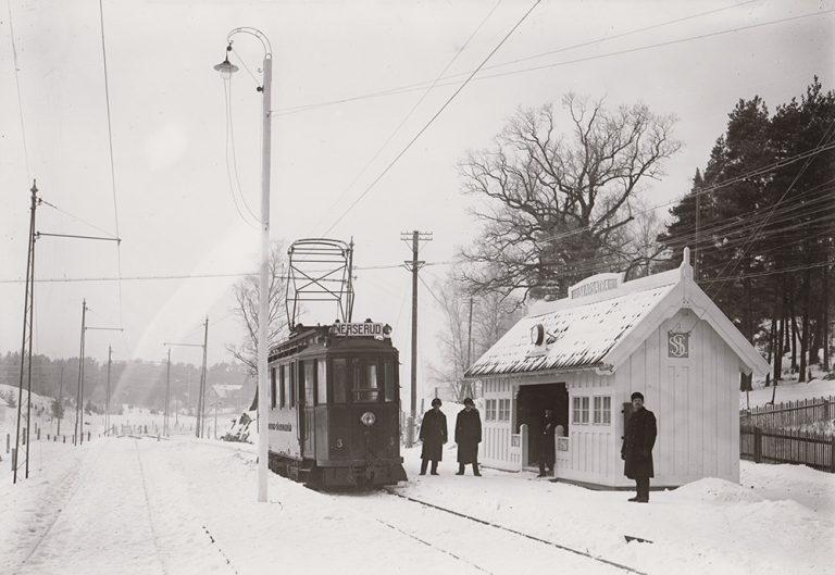 Stationshus på Lidingöbanan: Skärsätra