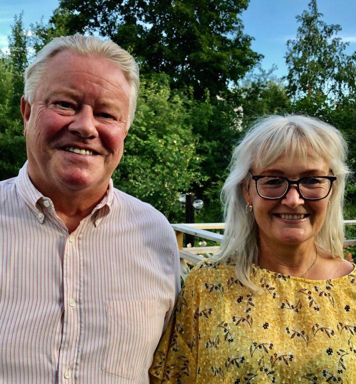 Lidingöbor i Coronatider: Johan och Sanna Granath