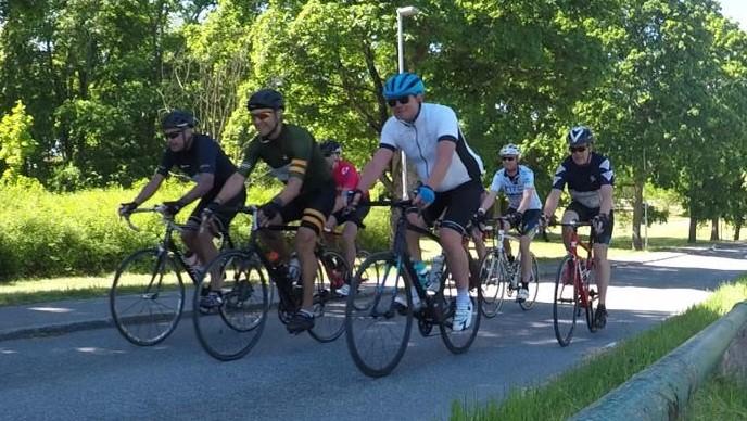 Cykelvasan på hemmaplan