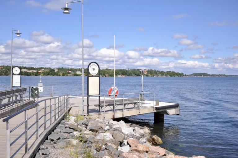 Snart trafikeras Gåshaga brygga av ny pendelbåtslinje