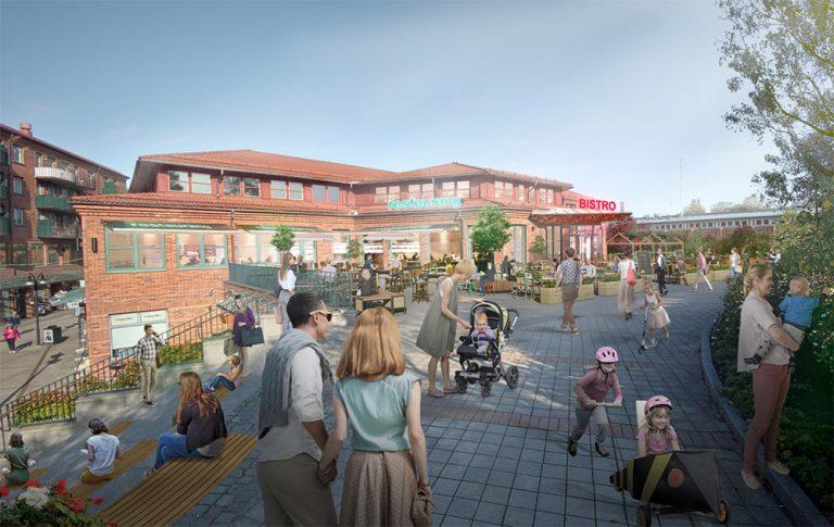 Utveckling för Lidingö Centrum