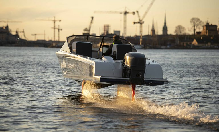 Elbåtarnas Tesla tillverkas på Lidingö