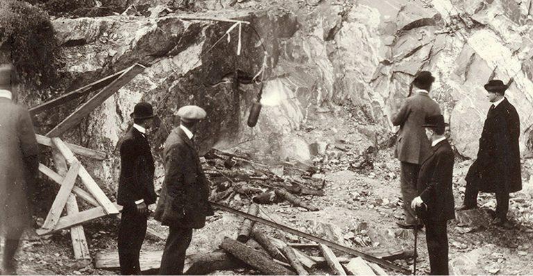En bild berättar: Gustaf Dalén och AGA år 1912