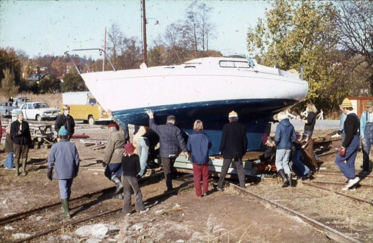 Båtupptagning förr