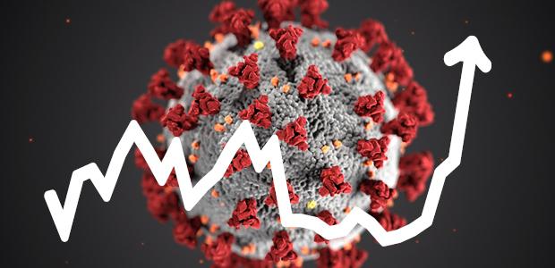 Ökad smitta påverkar förvaltningarna
