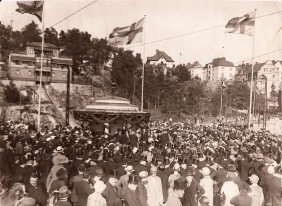 En bild berättar: Lidingöbrons invigning 1925
