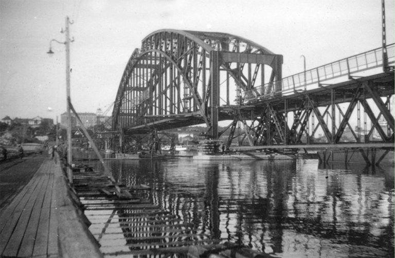 Gamla Lidingöbron tog 7,5 år att bygga