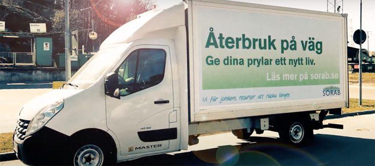 Lidingö slutar med mobila återvinningscentralen