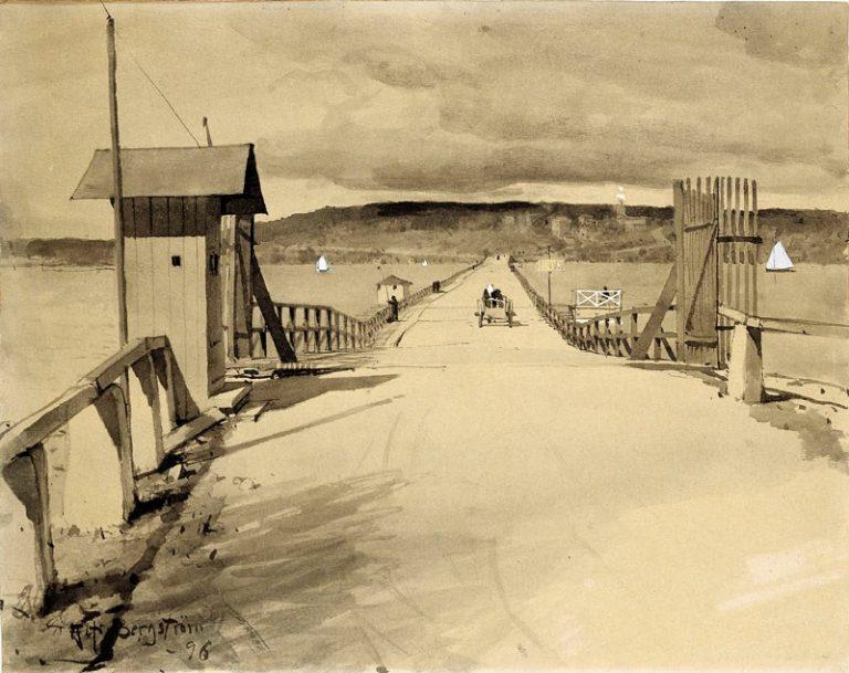 Lidingöbroar för 100 år sedan