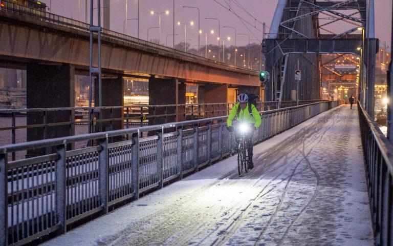 Ta tillbaka saltsopningen av cykelvägarna