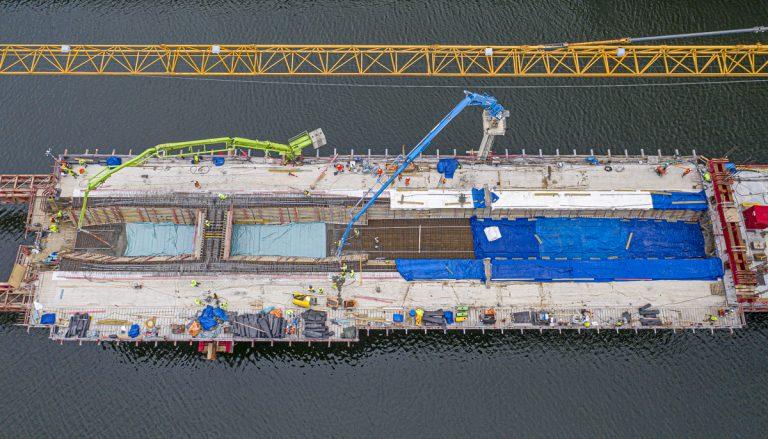 1020 kubikmeter betong