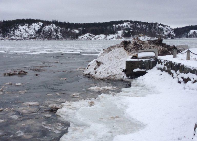 Centerpartiet tar upp debatten om snötippning i vatten