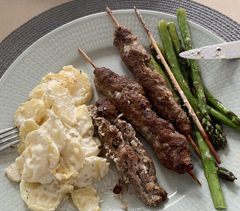 Recept i repris: Lamm och grön sparris