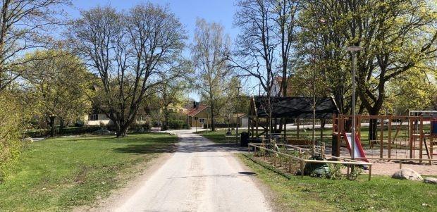 Nya trafikregler vid Bredablicks- parken och Grönstavägen