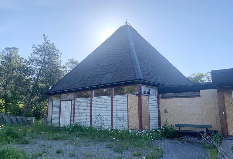 Klart för rivning av Rudboda kyrka