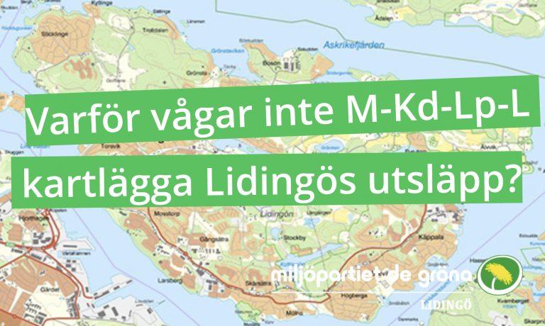 MP: Nej, Lidingö tillhör de facto Sveriges miljösämsta kommuner