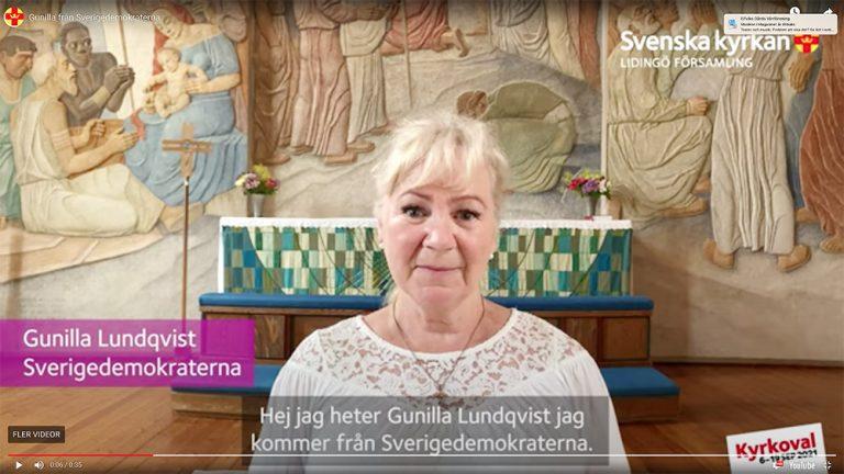 Kyrkovalet i Lidingö: Sverigedemokraterna