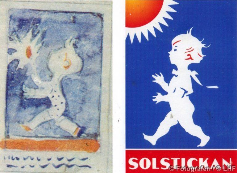 En bild berättar: Pojken på Solstickan