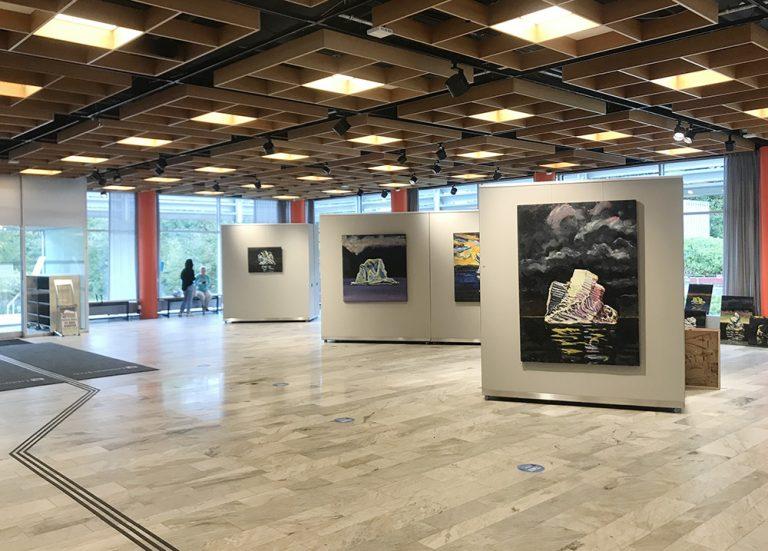 Utställning: Isbergsteorin på stadshuset