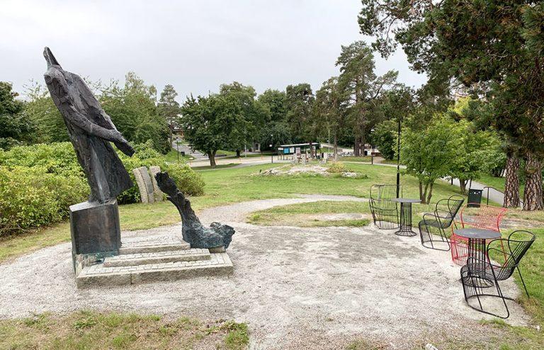 Stadshusparken döps om till Raoul Wallenbergparken