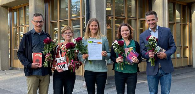 Pris till Käppala skola för arbete mot främlingsfientlighet och rasism