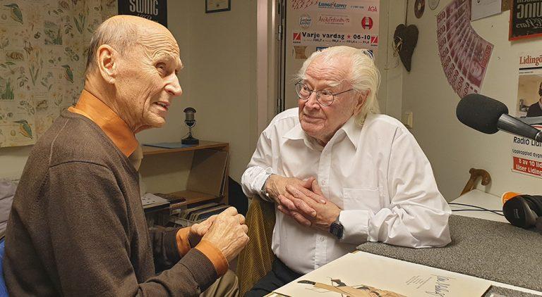 Jan Malmsjö gäst i Radio Lidingö hos Ljudfadern