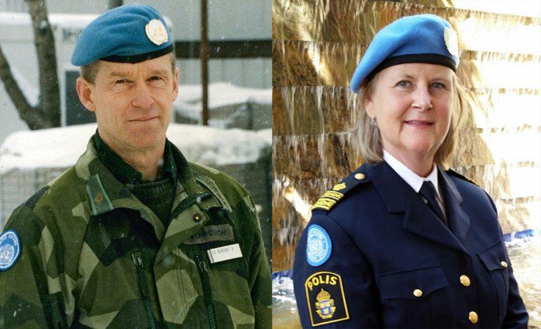 Svenska soldater och poliser i fredens tjänst