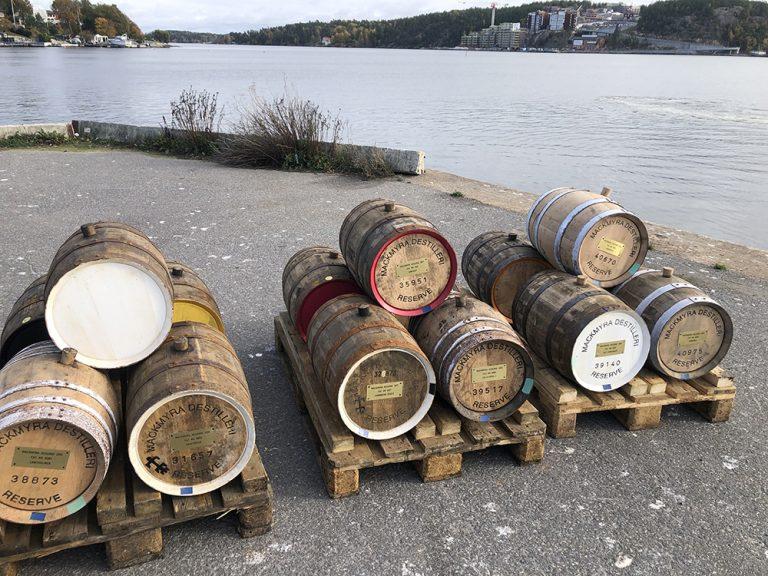 Whisky för 250 000 kr på kajen i Brevik!